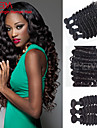 nouvelle arrivee 3pcs / lot bresilien vague profonde cheveux vierges de couleur naturelle 8inch-30inch peut etre teint les cheveux boucles