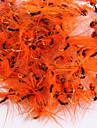 """20 st Flugor / Fiskbete Flugor Orange / Röd / Blå / gul shad / glasgrön / kaffe 0.2g g/<1/18 / 1/18 Uns,3 mm/<1"""" tum,Metall Flugfiske"""