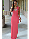 Women\'s Slit Sexy Maxi Dress