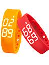 W2 Smart armband / Aktivitetsmonitor Brända Kalorier / Stegräknare / Alarmklocka / Stoppur / Temperatur Display / SömnmätareiOS / Android