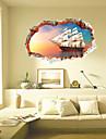 Nature morte / Paysage / Transport Stickers muraux Stickers muraux 3D,pvc 60*90cm
