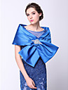 Wedding  Wraps Capelets Sleeveless Polyester Royal Blue Wedding / Party/Evening