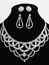 Set bijuterii Pentru femei Aliaj Ștras