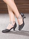 Chaussures de danse(Noir Marron Argent Or) -Personnalisables-Talon Personnalise-Paillette Brillante-Moderne