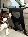 Câine Husă Scaune Mașină Animale de Companie  Genţi Transport Pliabil Solid Negru