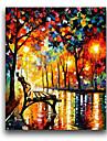 iarts®colorful stol och gatu kniv målning 2015