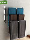 weiyuwuxian® 304 rostfritt stål badrum tre barer handdukshängare polerad