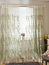 Två paneler Fönster Behandling Modern Bedroom Polyester Material gardiner draperier Hem-dekoration For Fönster
