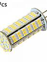 10W G4 LED-lampor med G-sockel MR11 126 SMD 3014 1020 lm Varmvit / Kallvit Dekorativ DC 12 / AC 12 / AC 24 / DC 24 V 5 st