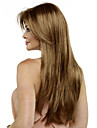 capless longue perruque blonde synthetique couleur Bang Side