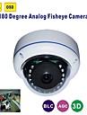180 Degrees 700 TVL Wide-Angle Infrared Camera