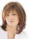 Nouveau Brun droites perruques blondes elegantes de cheveux synthetiques