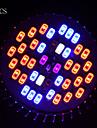 E26/E27 Lampes Horticoles LED PAR30 40 SMD 5730 1000 lm UV (Lumiere Noire) Violet Orange Rouge Bleu Decorative AC 85-265 V 5 pieces