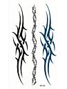 Brand New - Tatueringsklistermärken - Non Toxic / Stam / Waterproof - Totemserier / Annat - tillSpädbarn / Barn / Dam / Girl / Herr /