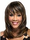 perruques femmes vente chaude dame d\'onde de la couleur des cheveux de melange synthetique a africain