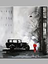 Dipinta a mano PaesaggiClassico / Realismo Un Pannello Tela Hang-Dipinto ad olio For Decorazioni per la casa