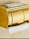 Toalettpappershållare Ti-PVD Väggmonterad 21*10*13cm(8.3*3.9*5inch) Rostfritt stål Modern
