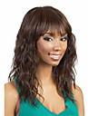 heta försäljning kvinnor lady syntetiska brun hårfärgning våg peruker till afrikansk