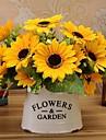Silke Solrosor Konstgjorda blommor