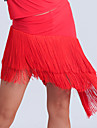 Imported Nylon Viscose with Tassel Latin Dance Skirts for Women\'s Performance (More Colors)