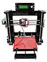 geeetech akryl mendel i3 3d skrivare stöd abs / pla / flexibla pla / trä / nylon gratis pla 1,75 mm glöd 0.3mm munstycke