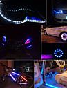 super ljusa varselljus 12v 30cm vattentät ljus ledde 15smd flexibla universal bil styling bil remsor ljus