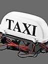 iztoss taxi top impermeables lampmagnetic voyants de vehicules de voiture avec 2 ampoules que la sauvegarde