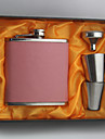 Bride / Groom / Bridesmaid / Groomsman Gifts-1 Piece/Set Flasks Modern Congratulations Stainless Steel Non-personalized Flasks Pink / Blue