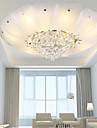 Flush Mount Crystal / LED Modern/Contemporary / Traditional/Classic Living Room / Bedroom / Dining Room Metal