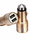 renepai® 2-en-1 12V / 24V DC voiture cigare allume-cigare puissance double prise de l\'adaptateur separateur