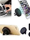 ziqiao montage support magnetique cage universelle de support de voiture de telephone portable pour l\'iphone 5 6 Samsung telephone