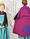 Costumes de Cosplay Princesse / Conte de Fee Cosplay de Film Bleu Mosaique Robe Halloween / Noel / Nouvel an Enfant Coton