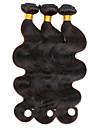 les cheveux remy bresiliens cheveux indiens de Vierge malaisien cheveux vierges vague de corps humain de 100% peruvien 300g de cheveux