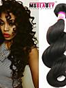 """1 st / lot 12 """"-30"""" 7a peruanska jungfru hår löst våg människohår väft 100% obearbetat peruanska remy hår väver"""