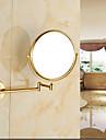 Gadget de Salle de Bain / Miroir Ti-PVD Fixation Murale 43cm*35cm*10cm(17*13.8*3.9pouces) Laiton Neoclassique
