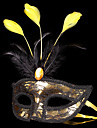 Mask / Masquerade Angel/Devil Festival/Holiday Halloween Costumes Red / Golden / Silver Patchwork Mask Halloween / Carnival UnisexShiny
