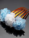 Women\'s / Flower Girl\'s Rhinestone / Chiffon Headpiece - Wedding / Special Occasion / Outdoor Hair Combs 1 Piece