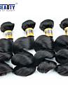 """4 st / lot 12 """"-28"""" 6a malaysiska jungfru hår löst våg människohår väft 100% obearbetat malaysiska remy hår väver"""