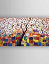 HANDMÅLAD Blommig/Botanisk / Moderna mästareModerna / Realism En panel Kanvas Hang målad oljemålning For Hem-dekoration