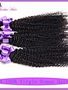 100% obearbetade 7a jungfru malaysiska hår kinky lockigt billiga malaysiska hår 3 st jungfru malaysiska hår väva