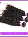 bresilien cheveux crepus boucles profonde boucles 3pcs cheveux bresiliens beaucoup bresilienne de cheveux boucles vierge crepus
