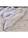 Satin Wedding / Party/ Evening / Dailywear Sash-Sequins / Beading / Rhinestone Women\'s 98 ½in(250cm) Sequins / Beading / Rhinestone