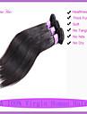 7a obearbetade jungfru hår brasilianska raka människohår buntar 1pcs maskin väft silkeslen rakt hår 8-30 tum
