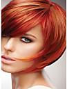 nouveau produit courte cheveux raides perruque blende synthetique meilleure qualite