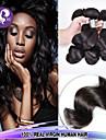 3st lot 100% brasilianska jungfru hår lös våg mänskliga hårförlängningar naturligt svart hår väver