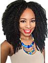 afro kinky 2x4 u del peruk obearbetade brasilianska kinky lockigt mellersta delen UDel peruk för svarta kvinnor u del kinky afro peruk