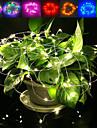 Jiawen 5m vattentät flexibel 3w 240lm 50-smd 0603 ledde tråd string ljus - silver (DC 12V)