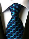 Cravată ( Albastru , Poliester ) Spic