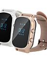 GPS-tracker smart klocka telefonsamtal sos band gsm wifi + lbs armbandsur intelligent övervaka larm för barn äldre