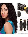 100% människohår förlängning brazalian hår hög kvalitet en bunt 40g naturliga färg